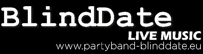 BlindDate Logo weiß